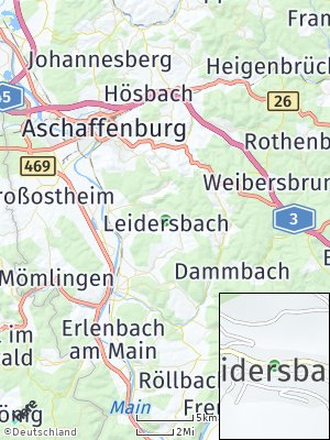 Here Map of Leidersbach