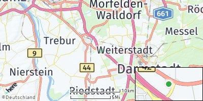 Google Map of Büttelborn