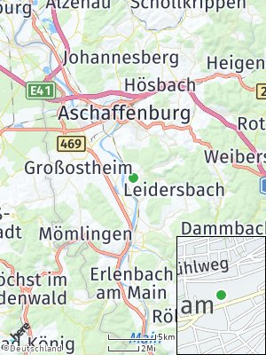 Here Map of Sulzbach am Main