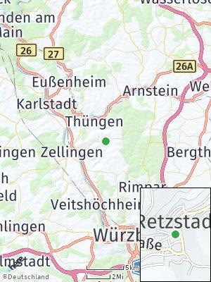 Here Map of Retzstadt