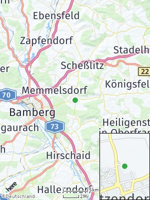 Here Map of Litzendorf