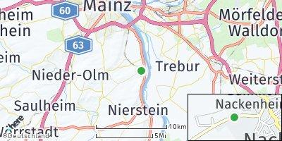 Google Map of Nackenheim