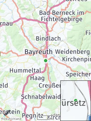 Here Map of Oberkonnersreuth
