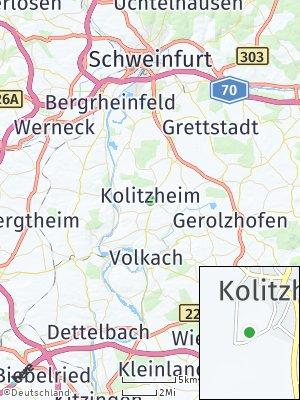 Here Map of Kolitzheim
