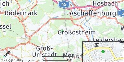 Google Map of Schaafheim