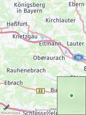 Here Map of Oberaurach
