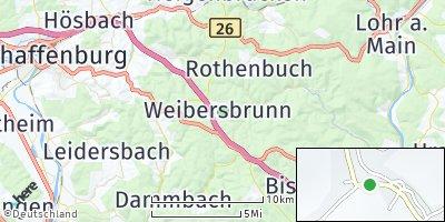 Google Map of Weibersbrunn