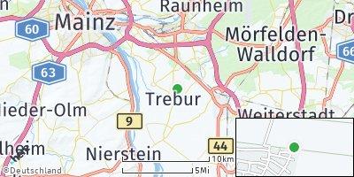 Google Map of Trebur