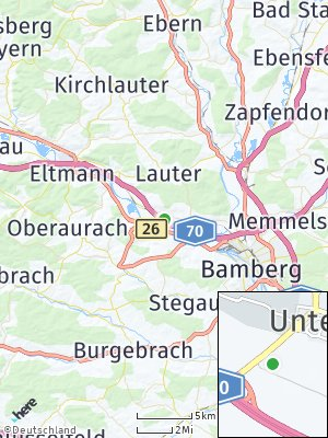 Here Map of Viereth-Trunstadt