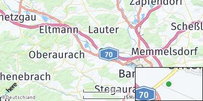 Google Map of Viereth-Trunstadt