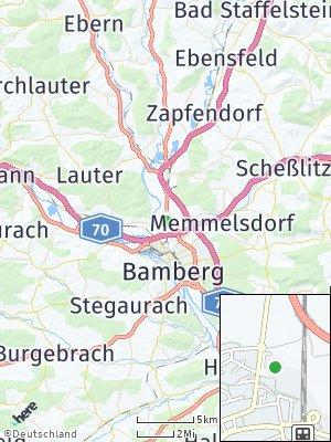 Here Map of Hallstadt