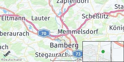 Google Map of Hallstadt