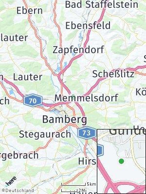 Here Map of Gundelsheim