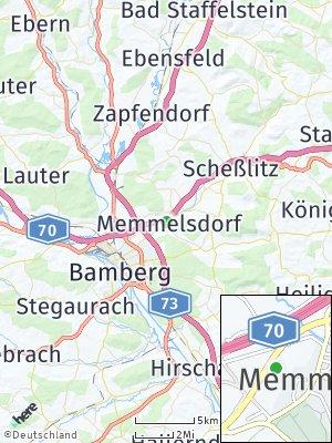 Here Map of Memmelsdorf