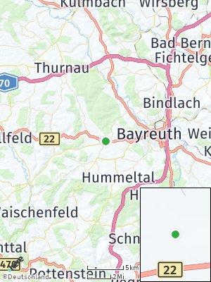 Here Map of Eckersdorf