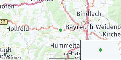 Google Map of Eckersdorf