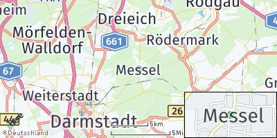 Google Map of Messel