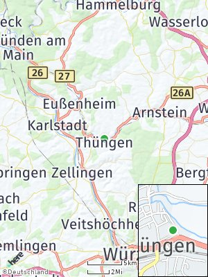 Here Map of Thüngen