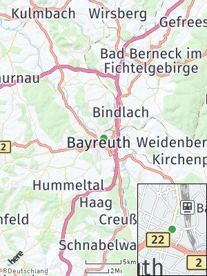 Here Map of Bayreuth