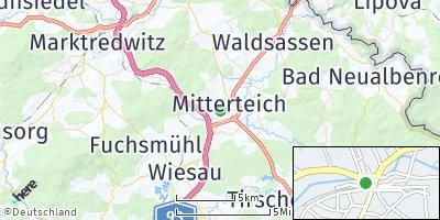 Google Map of Mitterteich