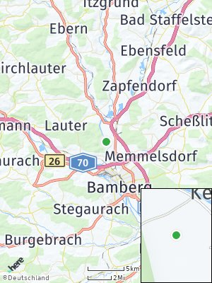 Here Map of Kemmern