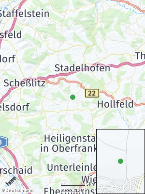Here Map of Königsfeld