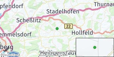 Google Map of Königsfeld