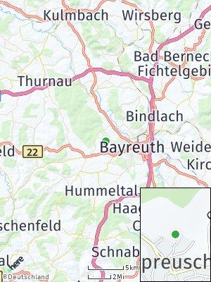 Here Map of Oberpreuschwitz