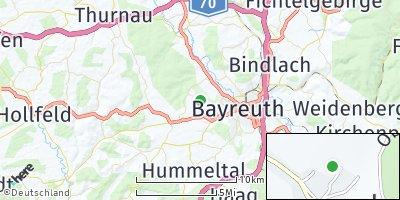 Google Map of Oberpreuschwitz