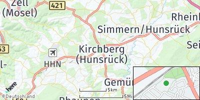 Google Map of Kirchberg