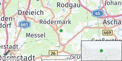 Google Map of Eppertshausen