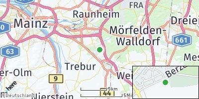 Google Map of Nauheim