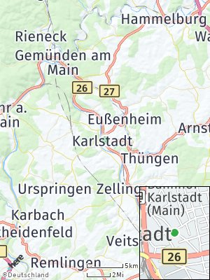 Here Map of Karlstadt