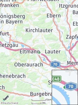 Here Map of Stettfeld