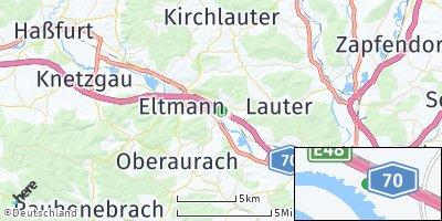 Google Map of Stettfeld
