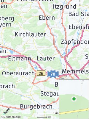 Here Map of Lauter
