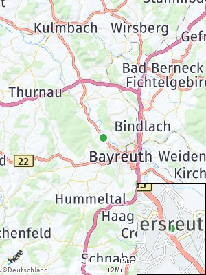Here Map of Heinersreuth