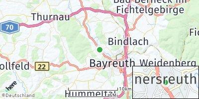 Google Map of Heinersreuth