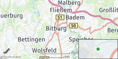 Google Map of Bitburg