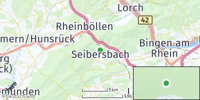 Google Map of Seibersbach