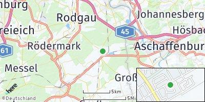 Google Map of Babenhausen