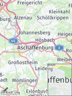 Here Map of Aschaffenburg