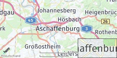 Google Map of Aschaffenburg