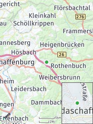 Here Map of Waldaschaff