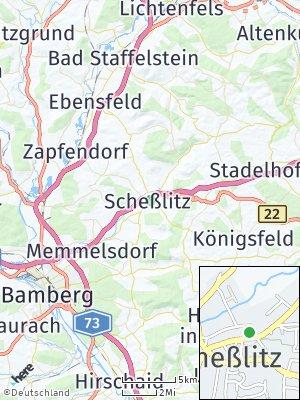 Here Map of Scheßlitz