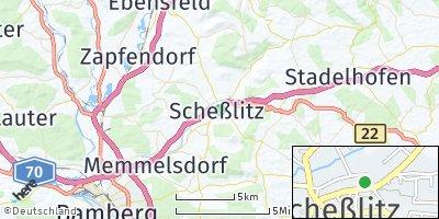 Google Map of Scheßlitz