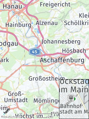 Here Map of Stockstadt am Main