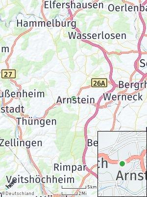 Here Map of Arnstein