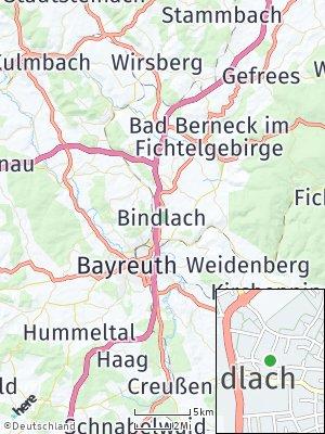 Here Map of Bindlach