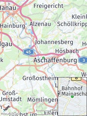 Here Map of Mainaschaff
